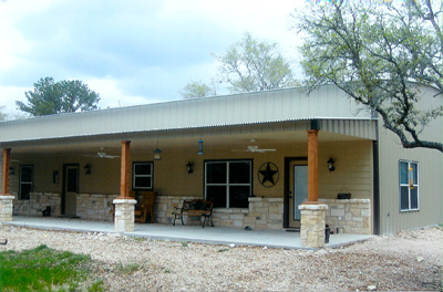 Texas barndominium prices texas metal buildings and steel for Small metal homes for sale